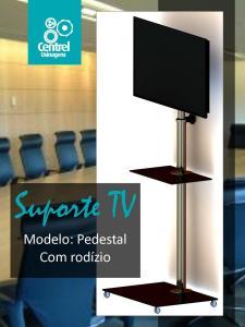 Suporte TV Pedestal