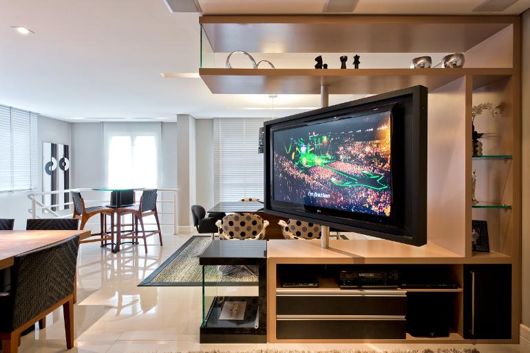 Sala Com Tv Giratoria ~  suporte rotativo p tv suporte rotativo p  Salas Com Tv Giratoria
