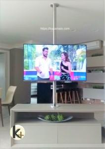 Suporte TV Móvel Teto Kasa Mais